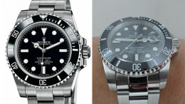Differences-Between-Rolex-Submariner-Replica-Vs-Real-Black